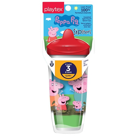 Image of Playtex Stage 3 Peppa Pig Spout Cup - 1.0 ea