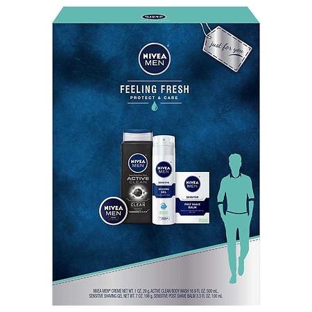 Nivea Men Feeling Fresh 4 Piece Gift Set - 1 ea