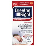 Breathe Right Nasal Strips to Stop Snoring, Drug-Free, Extra Tan