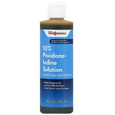 Iodine - Antibiotics & Antiseptics | Walgreens