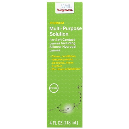 Walgreens Premium Multi-Purpose Solution - 4 fl oz