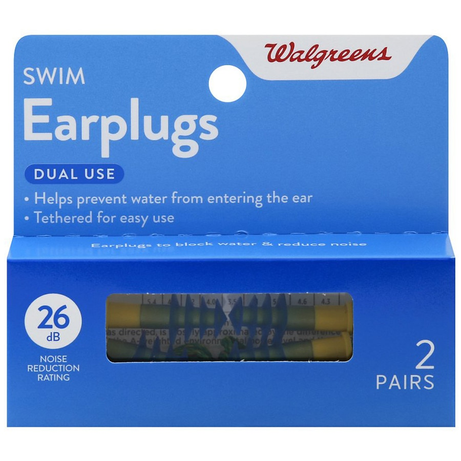 Walgreens Swim Earplugs
