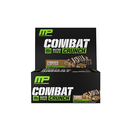 MusclePharm Combat Crunch 12 bars - 2.22 oz. x 12 pack