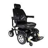 Drive Medical Trident HD Heavy Duty Power Wheelchair Black