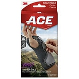Ace Reversible Splint Wrist Brace, Adjustable, Gray