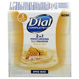 Dial Complete 2 in 1 Moisturizing & Antibacterial Beauty Bar Manuka Honey