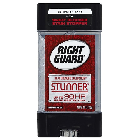Right Guard Best Dressed Gel Stunner - 4 oz.