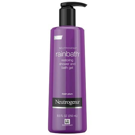 Neutrogena Shower And Bath Gel, Fresh Plum And Floral Scent - 8.5 fl oz