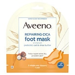 Aveeno Repairing Cica Moisturizing Foot Mask With Oat
