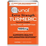Qunol Turmeric Extra Strength, Ultra High Absorption, 1000mg,