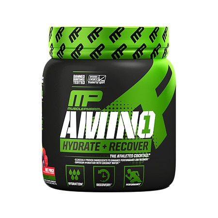 MusclePharm Amino 1 Sport Fruit Punch - 1 ea