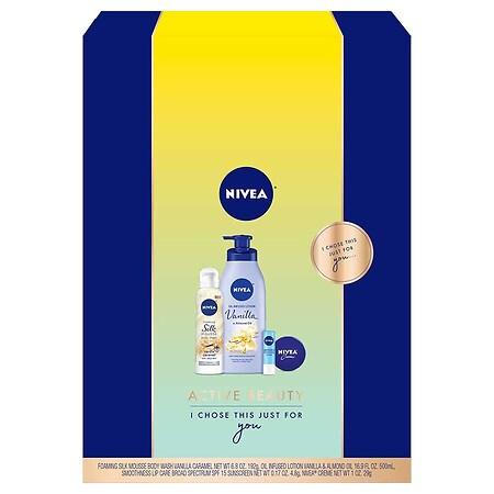 Nivea Active Beauty Gift Set - 1 ea