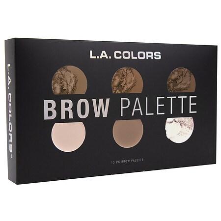 L.A. Colors Brow Palette - 1 EA