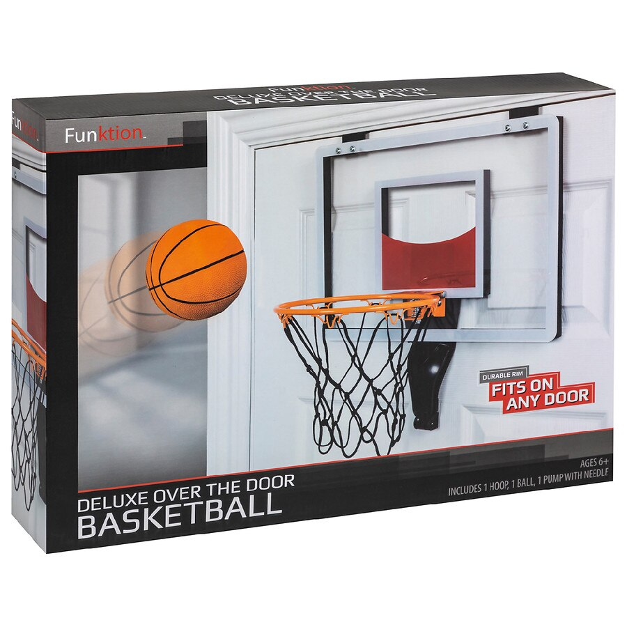 Funktion Deluxe Over The Door Basketball1 0 Ea