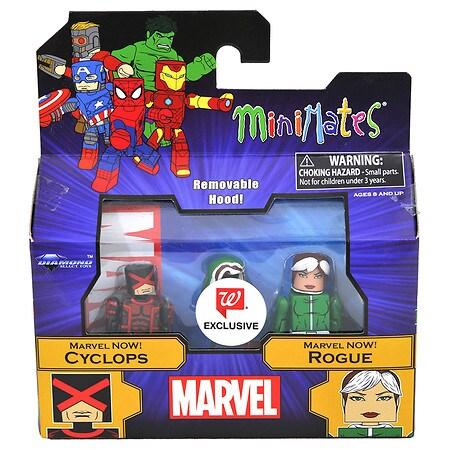Marvel Minimates Cyclops & Rogue - 1 ea