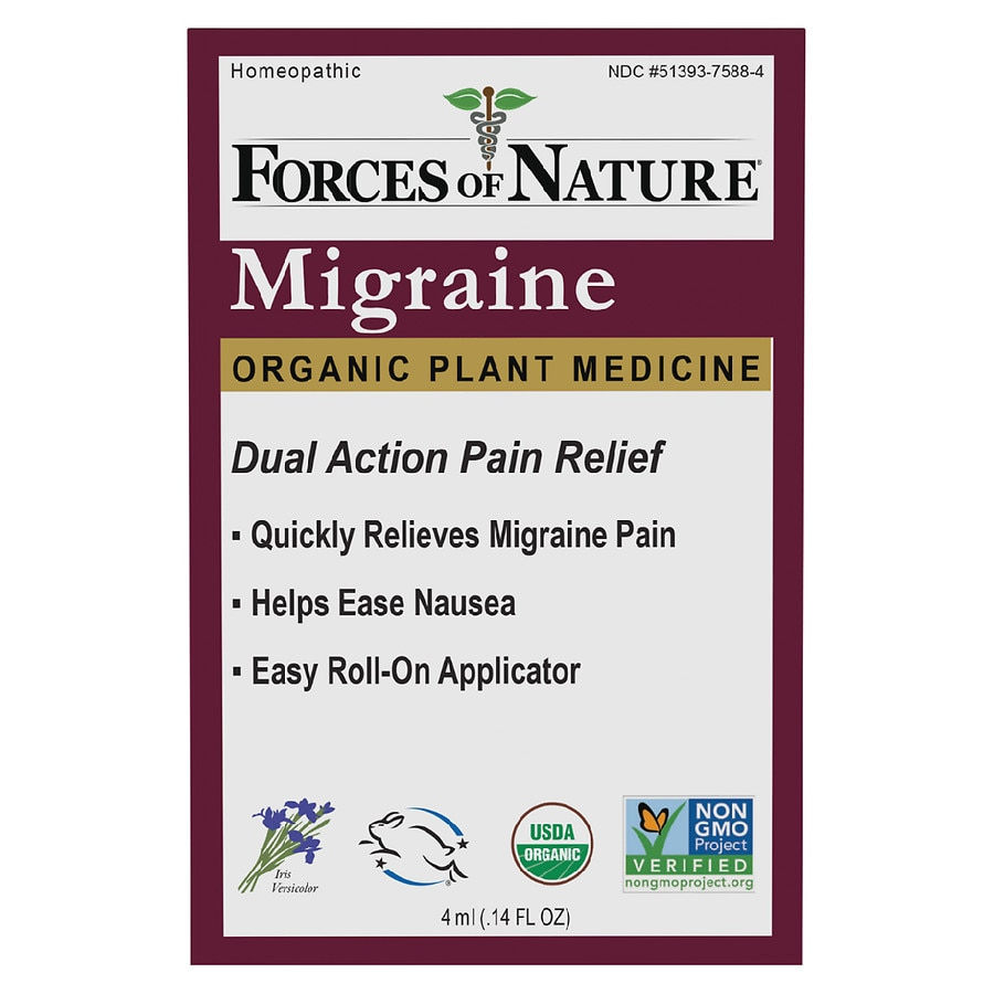 Forces Of Nature Migraine Pain Management Rollerball Walgreens