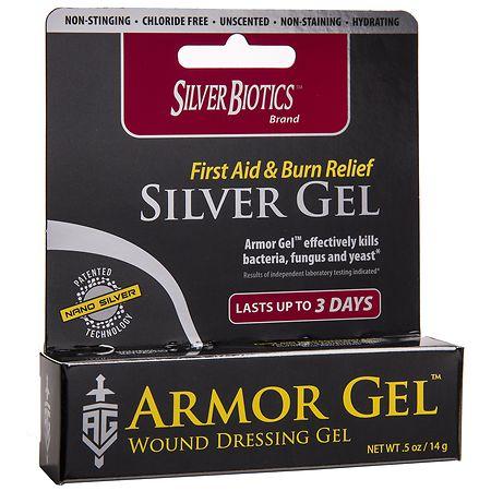 Silver Biotics Armor Gel Wound Dressing Gel - 0.5 oz.