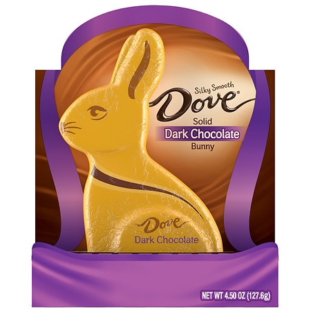 Dove Dark Chocolate Easter Bunny - 4.5 oz.