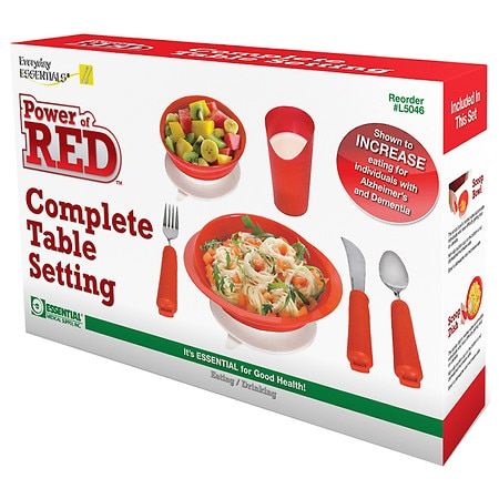 Power of Red Complete Dinner Set - 1 ea