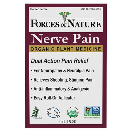 Forces of Nature Nerve Pain Management Rollerball - 0.14 oz.