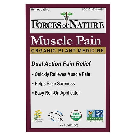 Forces of Nature Muscle Pain Management Rollerball - 0.14 oz.