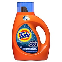 Deals on Tide Ultra Oxi Liquid Detergent 37-Oz