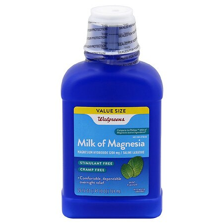 Walgreens Milk of Magnesia Mint - 26 oz.