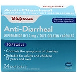 Walgreens Anti-Diarrheal Softgels