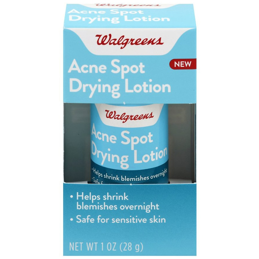 Walgreens Acne Spot Drying Lotion