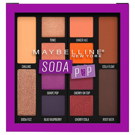 Maybelline New York Soda Pop Eyeshadow Palette Makeup - 0.26 OZ