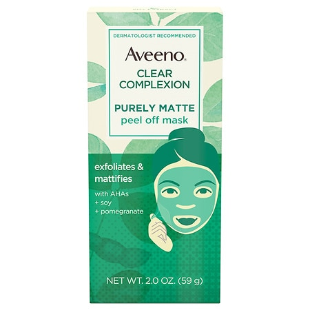 Aveeno Clear Complexion Pure Matte Peel Off Face Mask - 2 oz.