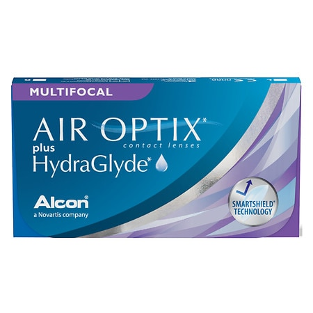 Air Optix Air Optix plus HydraGlyde Multifocal - 1 Box