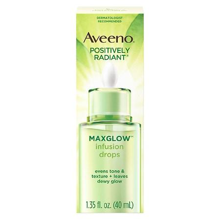 Aveeno Positively Radiant Maxglow Infusion Drops - 1.35 fl oz