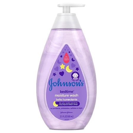 Johnson's Baby Bedtime Moisture Wash With Soothing Aromas - 27.1 fl oz