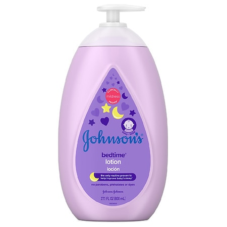 Johnson's Baby Bedtime Baby Lotion With Naturalcalm Essences - 27.1 fl oz