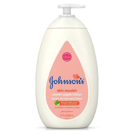 Johnson's Baby Skin Nourish Sweet Apple Lotion - 27.1 fl oz