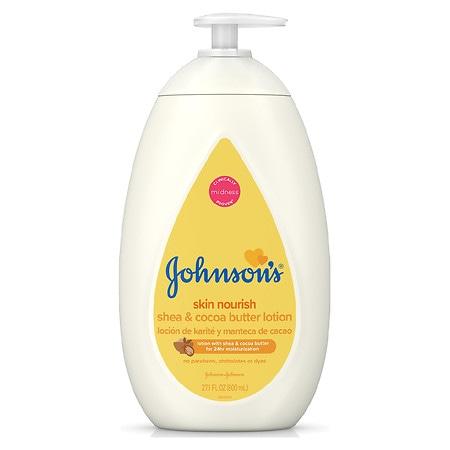 Johnson's Baby Skin Nourish Shea & Cocoa Butter Lotion - 27.1 fl oz