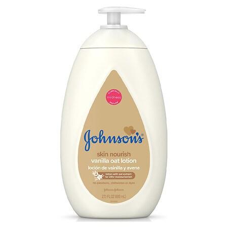 Johnson's Baby Skin Nourish Vanilla Oat Lotion - 27.1 fl oz