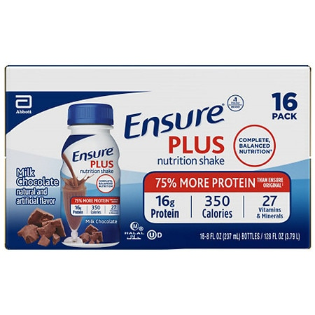 Ensure Nutrition Shake Ready-To-Drink Milk Chocolate - 8 fl oz x 16 pack