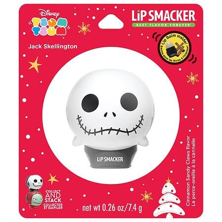 Bonne Bell Lip Smacker Holiday Tsum Tsum - Jack Cinnamon Sandy Claws - 0.26 oz.