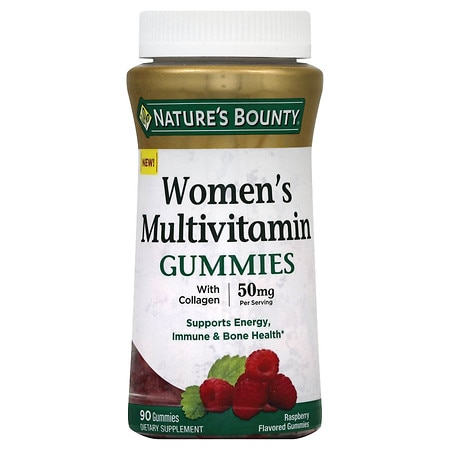 Nature's Bounty Women's Multi Gummies Raspberry - 90 ea
