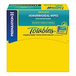 Preparation H Totable Medicated Hemorrhoid Wipes