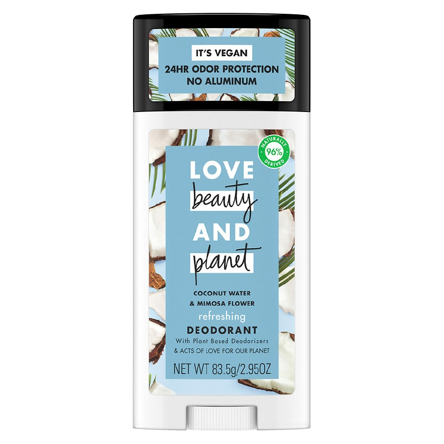Love, Beauty & Planet Deodorant Coconut Water and Mimosa Flower