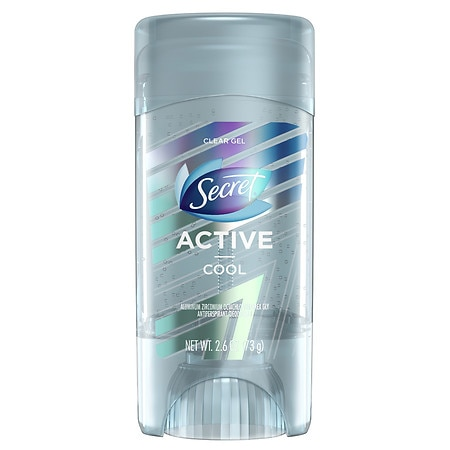 Secret Active Clear Gel Antiperspirant and Deodorant Cool - 2.6 oz.