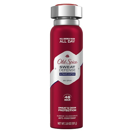 Old Spice Invisible Spray Antiperspirant and Deodorant for Men Captain - 3.8 oz.