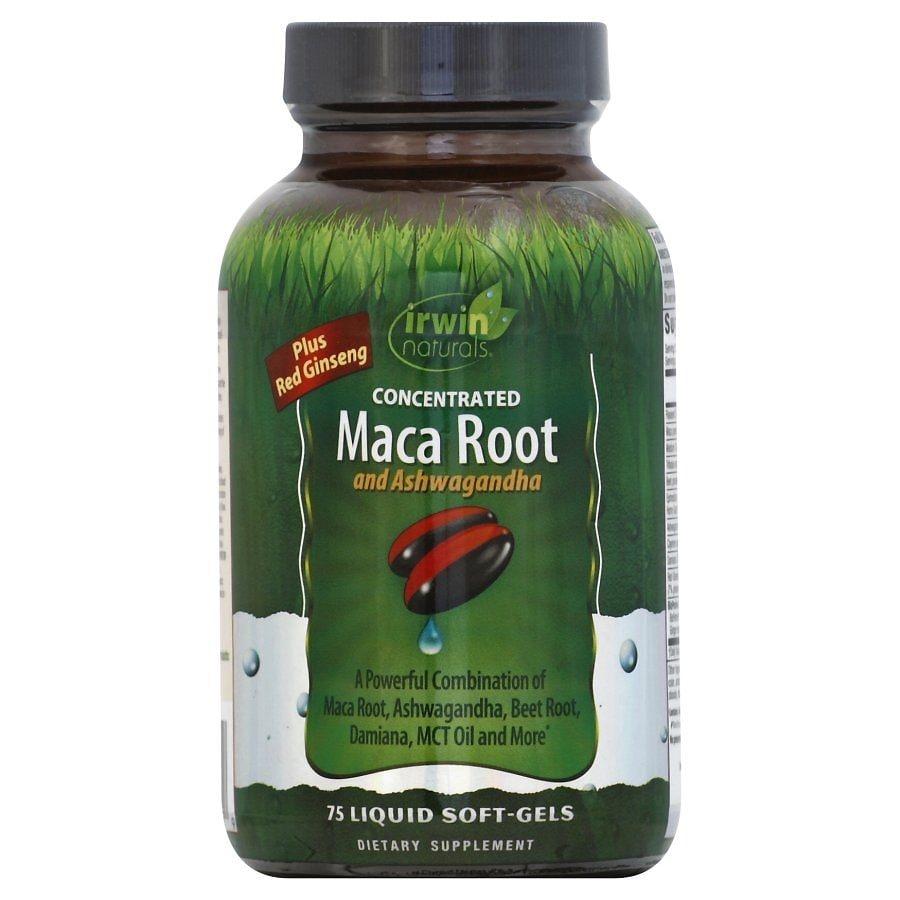 Irwin Naturals Maca Root Liquid Soft-Gels 75.0ea