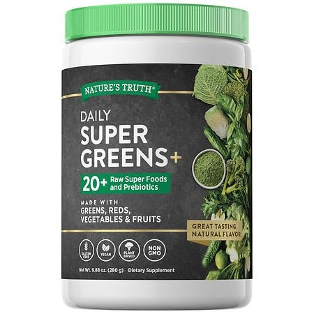 Nature's Truth Daily Super Greens Plus - 9.88 OZ
