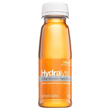 Hydralyte Electrolyte Solution Single Serve Orange - 8.45 oz.