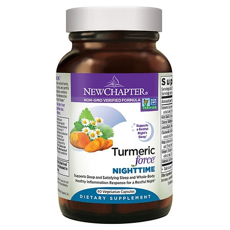 New Chapter Turmeric Force Nighttime - 60 ea