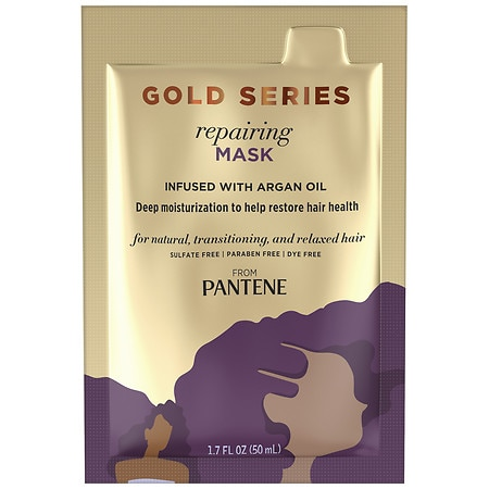 Pantene Gold Series Repairing Mask Treatment - 1.7 fl oz